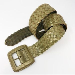 Linea Pelle Collection Woven Belt